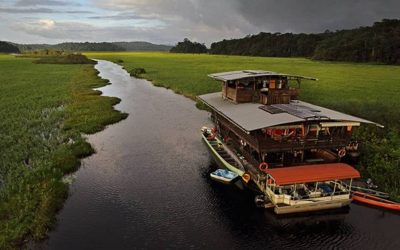 KAW MARSH TRIPS ON BOARD THE FLOATING ECO-LODGE