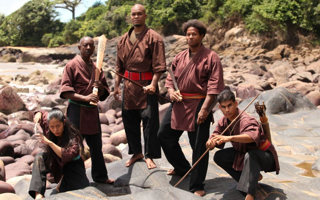 INITIATION TO DJOKAN  GUIANA'S AMAZONIAN MARTIAL ART