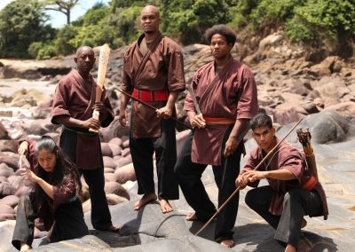 Initiation au Djokan, art martial amazonien avec Guyane Evasion